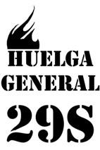 HUELGA GENERAL DEL 29 DE SEPTIEMBRE (ACTOS)